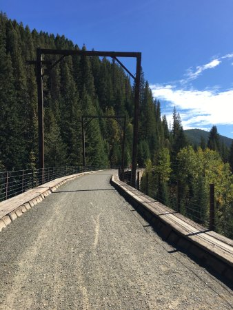 Wallace, ID: Train Trestle