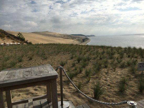 La Corniche : la dune vue du restaurant