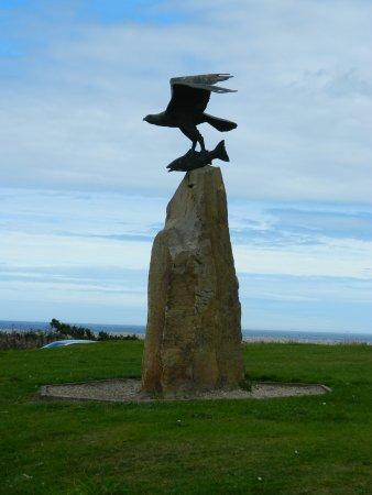 Fochabers, UK: Great Statue