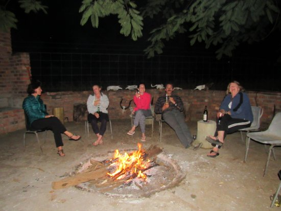 Gravelotte, Sudáfrica: most evenings spent like this