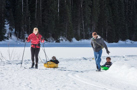 Manning Park, Canadá: Cross-country skiing