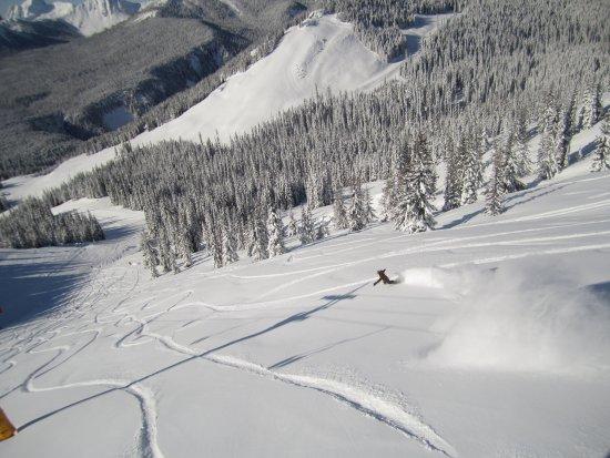 Manning Park, Kanada: Powder day at the ski hill