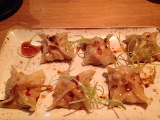 San Rafael de Escazu, Costa Rica: Delicious dumplings and tasty spring rolls !