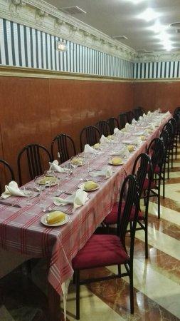 Puertollano, Spania: Restaurante