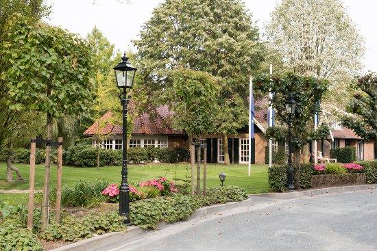 Ootmarsum, Países Bajos: Blick auf den Zimmerflügel