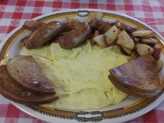 Cairo, NY: Large Breakfast Plate