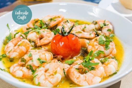 Quinta do Lago, Portugal: Prawns & Garlic - Easy Food!