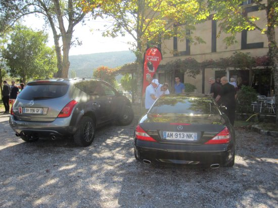 La Palud sur Verdon, Fransa: parking