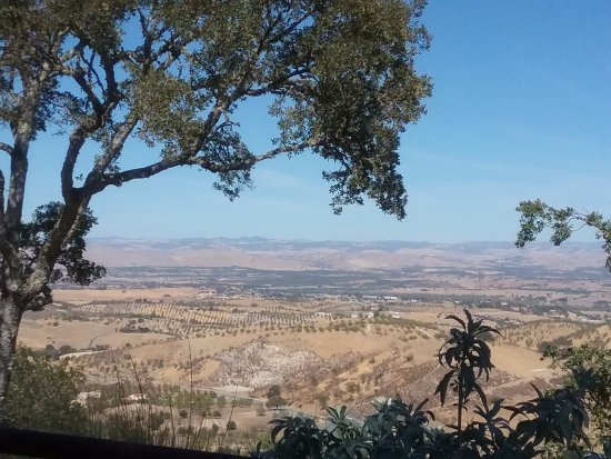 Paso Robles, Californie : View from the picnic area