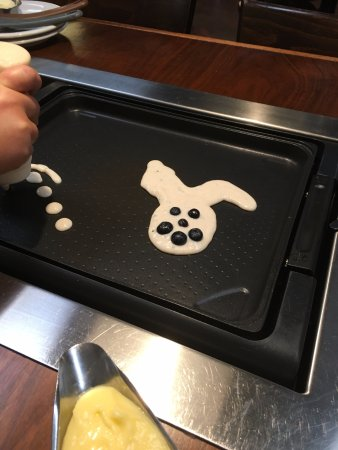 Slappy Cakes: poor excuse for a rabbit pancake...