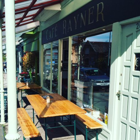 Rhos-on-Sea, UK: Café Rayner