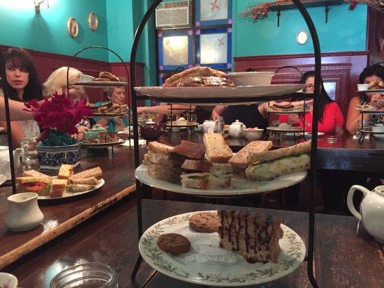Alice's Tea Cup: Scones, tea sandwiches and dessert