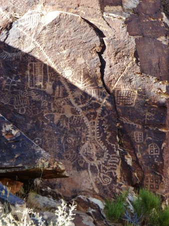 Parowan, UT: The Zipper Glyph