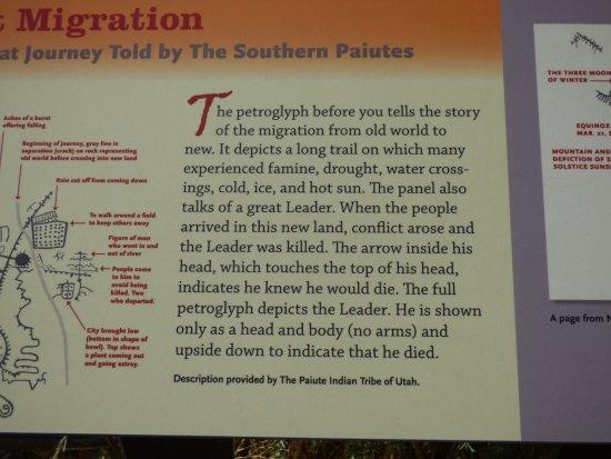 Parowan Gap Petroglyphs: Great information posted.