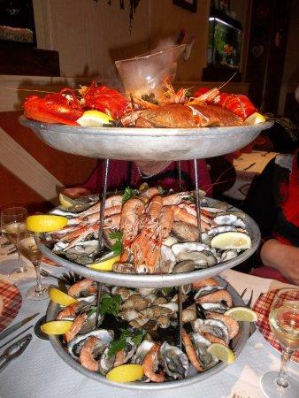 Saverne, Fransa: plateau fruits de mer