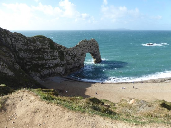 West Lulworth, UK: this does not do it justice!