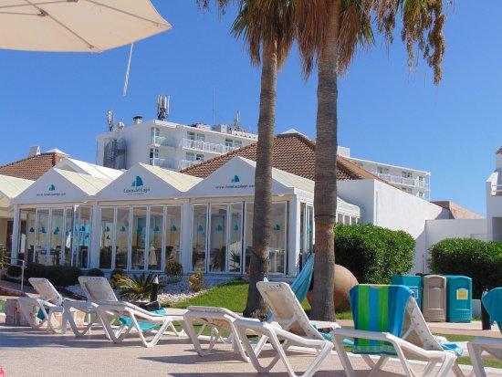 Beach club picture of casas del lago hotel spa beach club adults only ciutadella - Hotel casas del lago menorca ...
