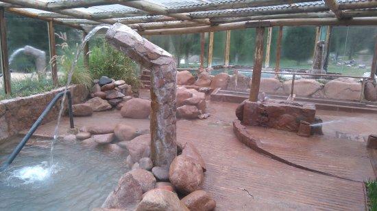Termas Cacheuta - Terma Spa Full Day: Vista interna das piscinas