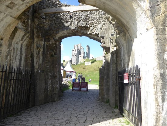 Corfe Castle, UK: historic and intriguing.