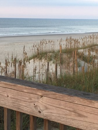 Ocean Isle Beach, Carolina del Norte: We love The Winds Resort! Beautiful beach, great staff and always neat and clean.