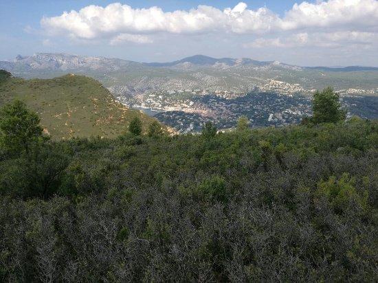 Provence, Fransa: Route des Cretes La Ciotat Cassis