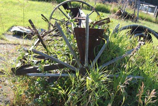 Oroville, WA: old iron