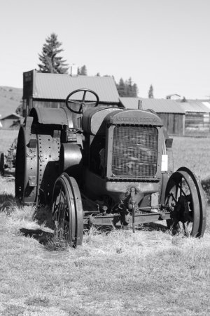 Oroville, WA: old iron