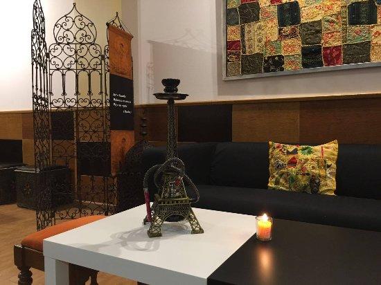 Álora, España: Genial para disfrutar una cachimba o shisha