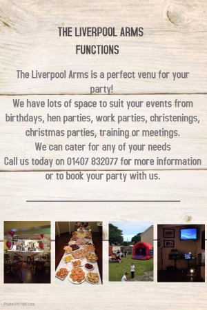 Amlwch, UK: Functions we are able to cater for