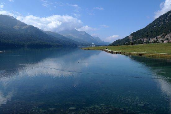 Сильваплана, Швейцария: Lake Silvaplana