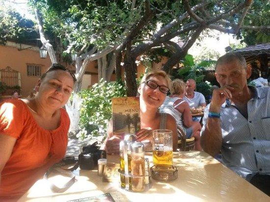 Family in Socratous Garden