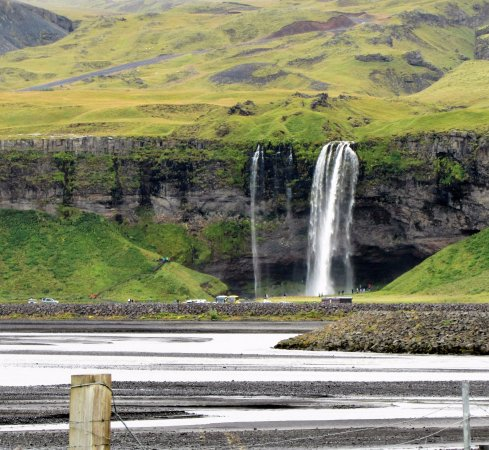 Hvolsvollur, İzlanda: from about 5 kms away