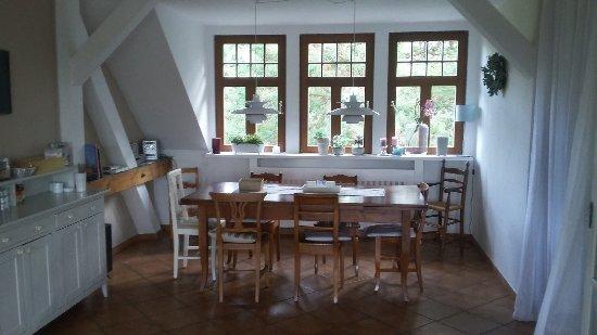 Lubben, Allemagne : Frühstücksecke