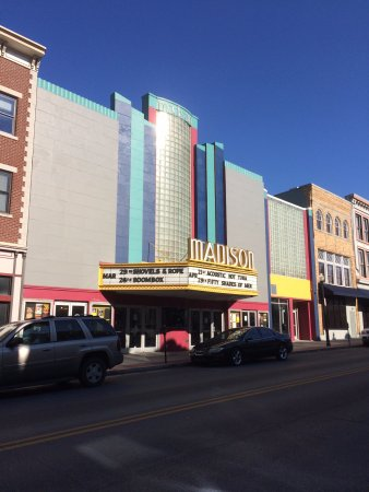 Madison Theater: The Madison.