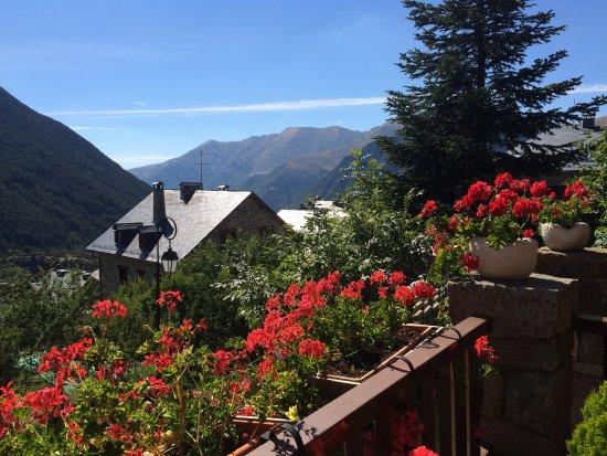 Taull, Espagne : Vista desde la terraza del hotel