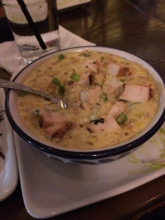 Sugar Land, TX: yummy roasted corn bisque (bowl size - also have a cup