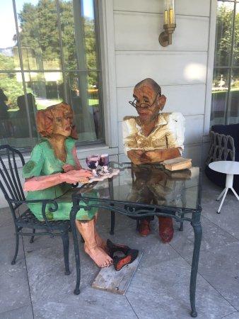 Bad Ragaz, Suiza: Zwei die es geniessen😎