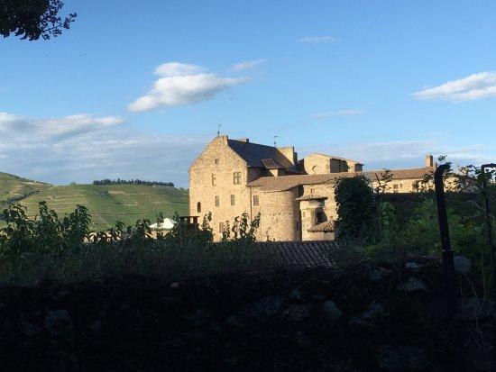 Tournon-sur-Rhone, Prancis: Vue des jardins
