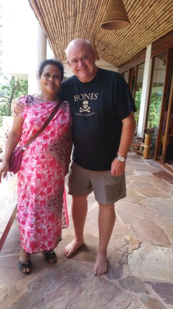 Ri Kynjai: Me with Meilit - she will provide the most amazing Khasi massage, which is a truly healing exper