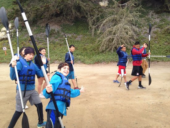 Morro Bay, كاليفورنيا: Pre trip safety lesson