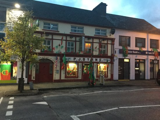Claremorris, Irlanda: PJ Byrnes