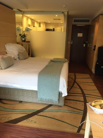 Vineyard Hotel: Our comfortable and spacious mountain deluxe room