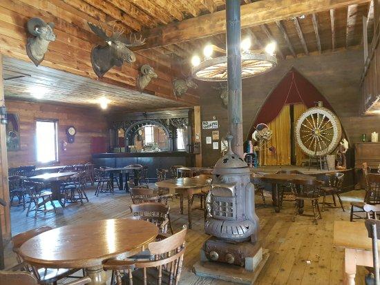Revelstoke, Kanada: Saloon Ghost town