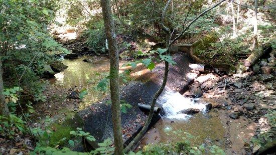 Saluda, NC: artificial damb