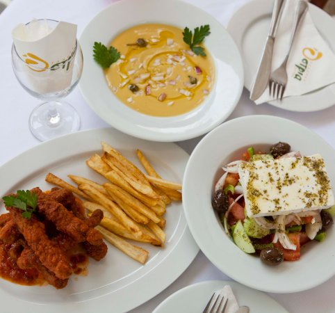 Apartments Ostria: Some plates of our restaurant