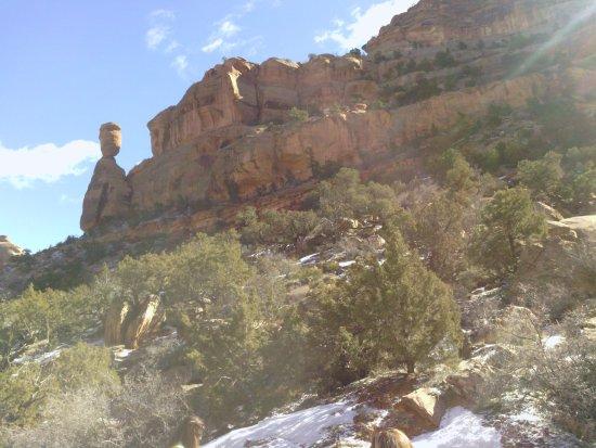 Fruita, CO: roca balanceandose