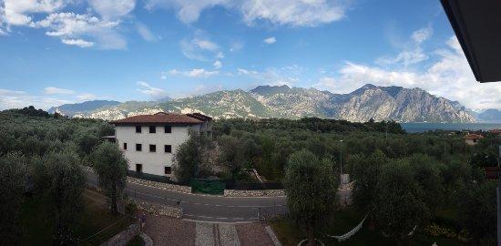 Hotel Garni Orchidea: Panorame von der Terrasse