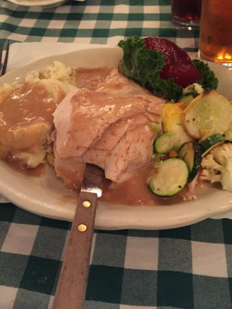 Bradford, NH : my turkey dinner