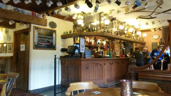 Glynneath, UK: view to the bar