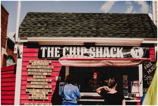 The Chip Shack store front!